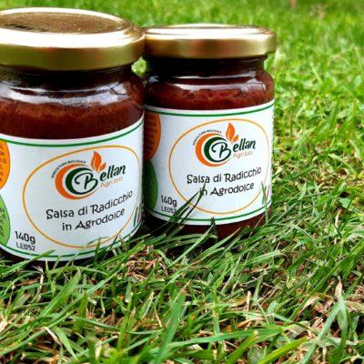 salsa di radicchio in agrodolce bio
